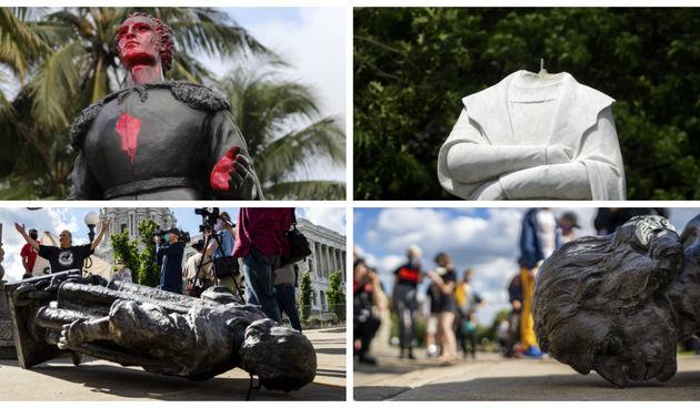 Diljem Amerike uništavaju se spomenici robovlasnicima i kolonizatorima, među njima i Kistofor Kolumbo