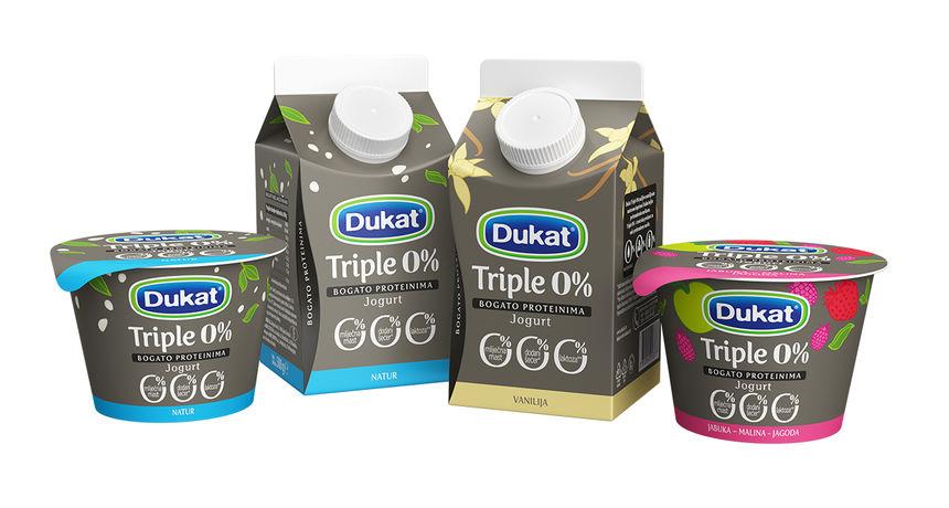 Dukat predstavio prvu liniju 'pametnih jogurta': Ne sadrže mliječnu mast, dodane šećere ni laktozu...