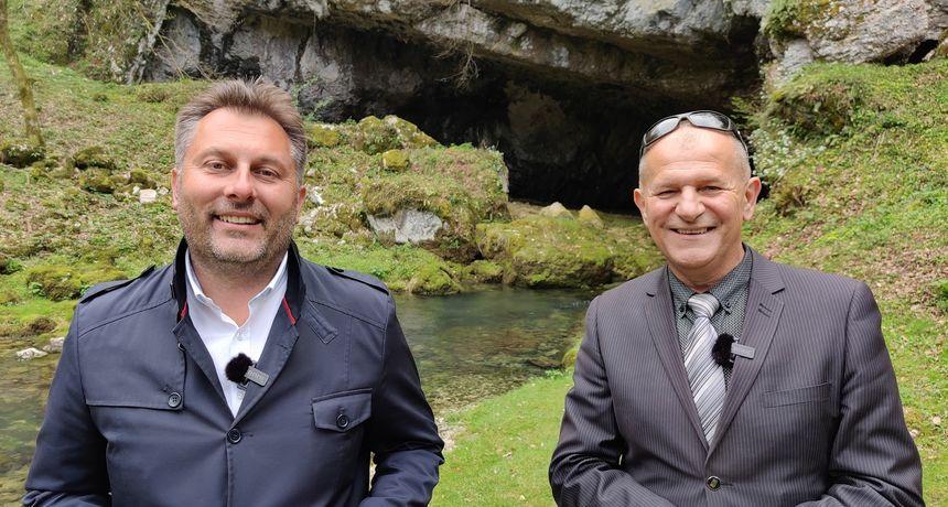 """U novoj sezoni emisije """"Đir"""" Davor Jurkotić posjetio je Općinu Tounj i načelnika Ivicu Sopeka"""