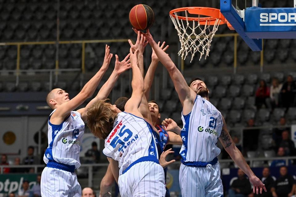 ABA liga, 3. kolo: KK Zadar - KK Cibona 67-68