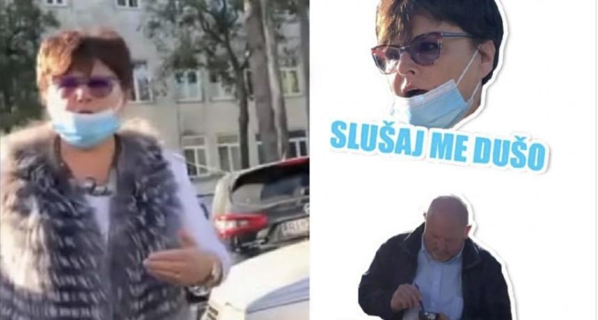 """Nakon incidenta u Rijeci, na Viberu osvanule urnebesne """"parking doktorica"""" naljepnice"""