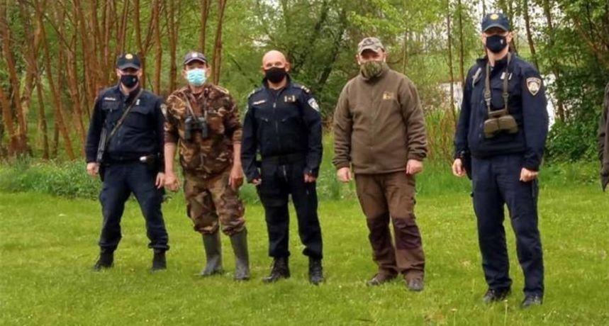 FOTO Preloški policajci u velikoj akciji s lovcima! Love krivolovce čak i dronovima
