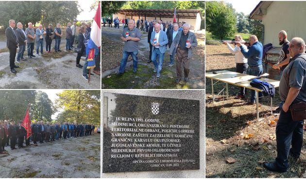 FOTO Obilježena 30. godišnjica zauzimanja Karaule JNA Marko Kovač u Goričanu