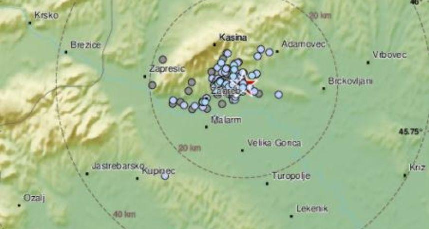 Zagreb jutros pogodio potres jačine 1 po Richteru, građani uznemireni: 'Dokad više?!'