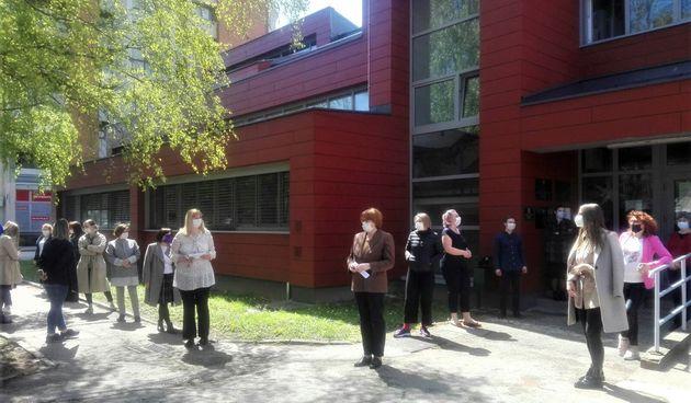 I socijalni radnici u Karlovcu prosvjedovali: Mi smo s našim korisnicima na istoj strani, ali za ishod nekog postupka ne možemo preuzeti odgovornost