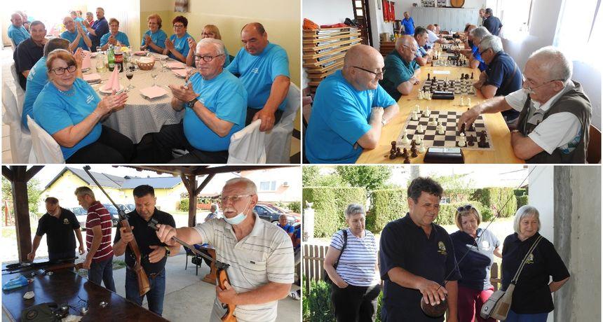 FOTO Sportski susreti umirovljenika u Gornjoj Dubravi