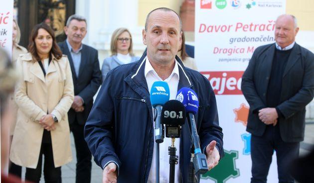Petračić kao koalicijski kandidat u novoj utrci za gradonačelnika Karlovca: Otvorit ćemo perspektivu ovom gradu i i pojeftiniti život građanima
