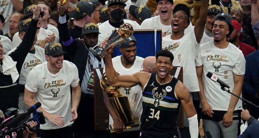 Čudesni Antetokounmpo odveo Buckse do drugog naslova NBA prvaka