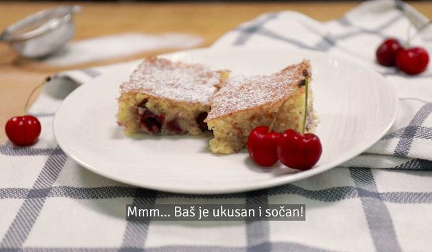Ovaj sjajni kolač s trešnjama oduševit će svako nepce (thumbnail)