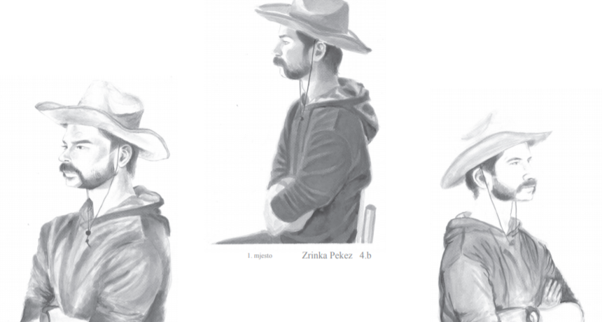 Izabrane tri najbolje mlade crtačice u Osijeku