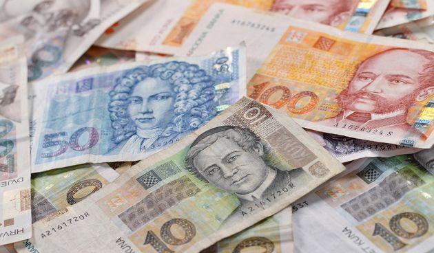 novčanice kune novac