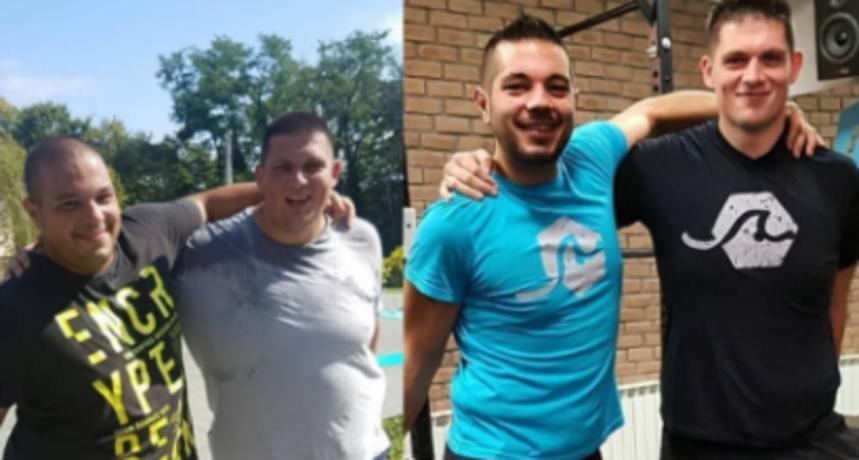 Mario iz 'Života na vagi' prisjetio se kako su on i Luka izgledali prije samo 2 godine: 'Transformacija'