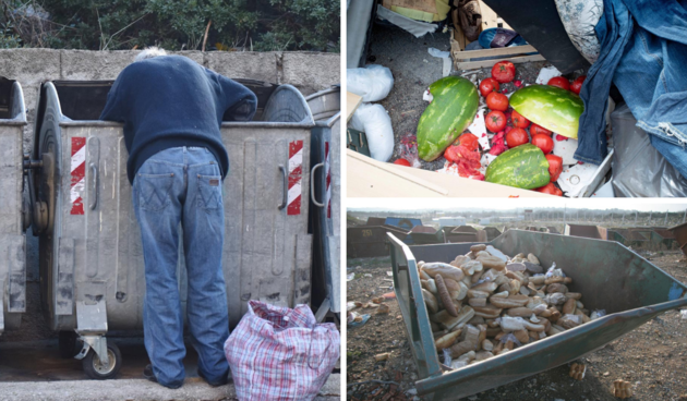 siromaštvo, bacanje hrane