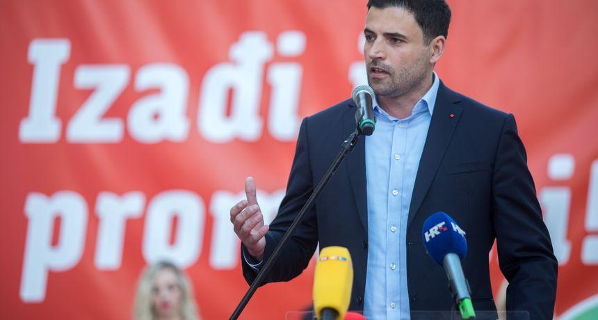Bernardić komentirao prijedlog o raspuštanju gradskih organizacija: 'SDP nema smisla bez ljudi'