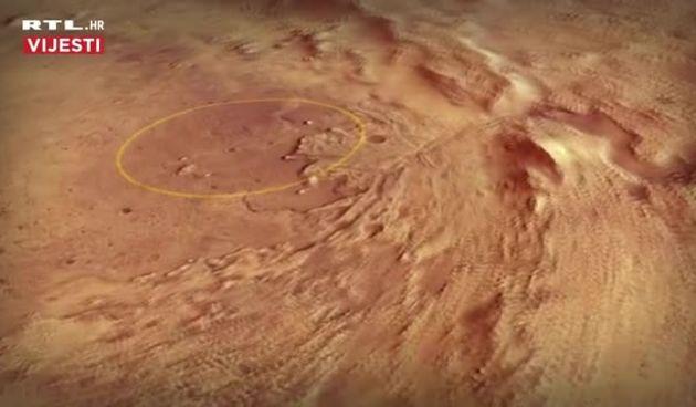 Novi rover slijeće na Mars (thumbnail)
