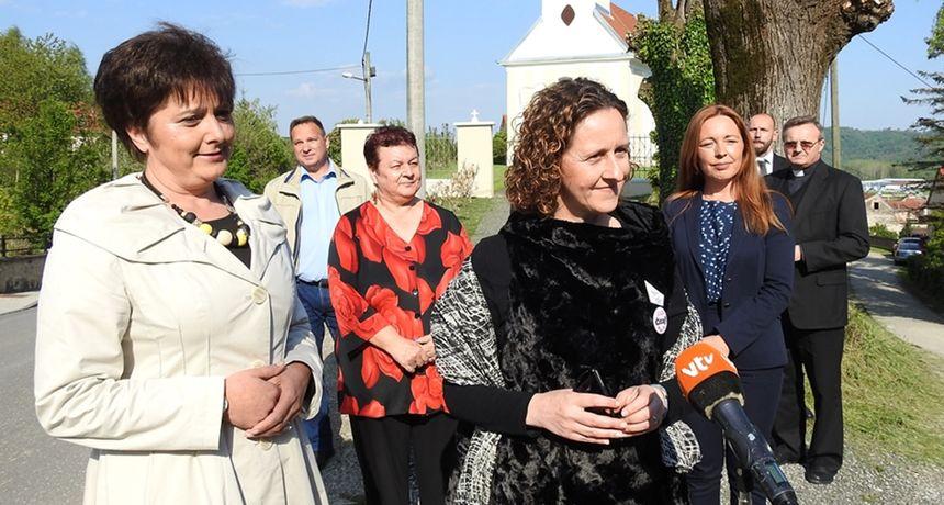 Ministrica Obuljen Koržinek u Varaždinskim Toplicama: 'Tko god dođe bude oduševljen bogatstvom baštine koja se ovdje nalazi'