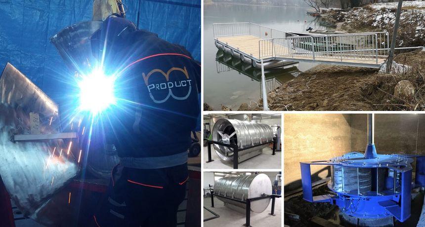 MW PRODUCT Kontinuirano ulažemo u vlastiti razvoj i unapređenje proizvodnje