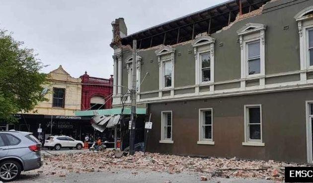 Melbourne, potres