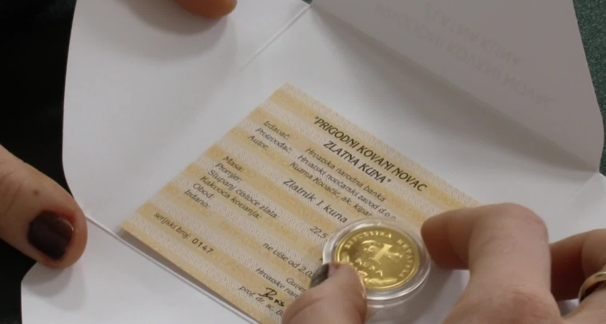 Zlatnik vrjedniji od minimalca! U prodaji limitirana serija zlatnih kuna: Ispitali smo koliko ih je izrađeno i gdje ih kupiti