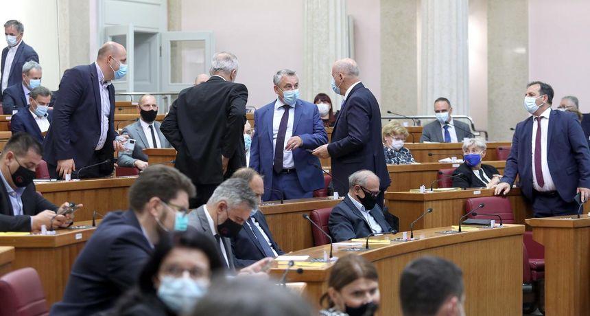 Sabor usvojio rebalans proračuna s 77 glasova zastupnika za, Silvano Hrelja se priklonio većini