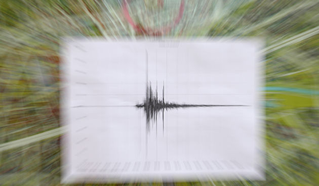 Potres Ilustracija