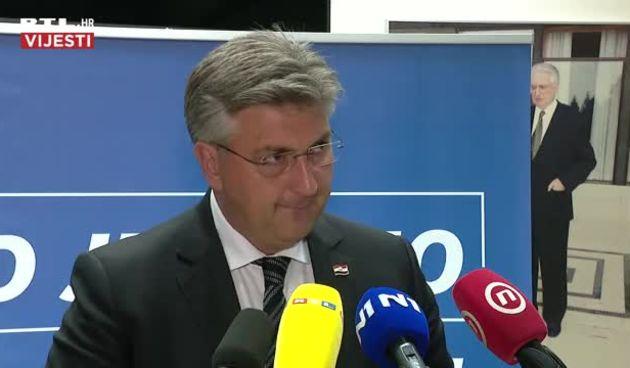 Plenković nakon sjednice Predsjedništva i Nacionalnog vijeća HDZ-a (thumbnail)