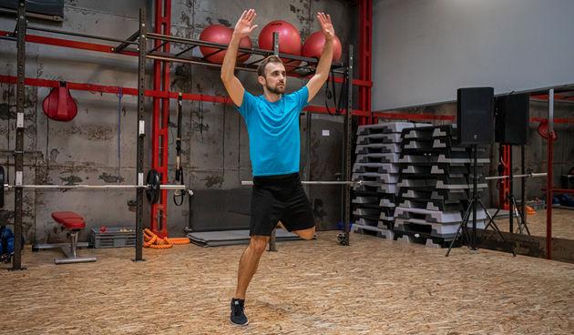Uz trenera Vedrana Spevana odradite power aerobic trening kod kuće