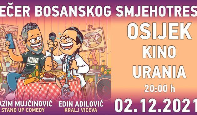 Kino Urania: Večer bosanskog Smjehotresa
