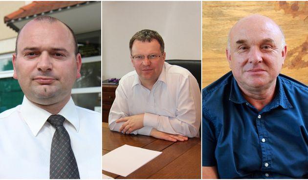 NAJUVJERLJIVIJI Mario Tomašek, Anđelko Nagrajsalović i Stanislav Rebernik dobili više od 80% glasova birača