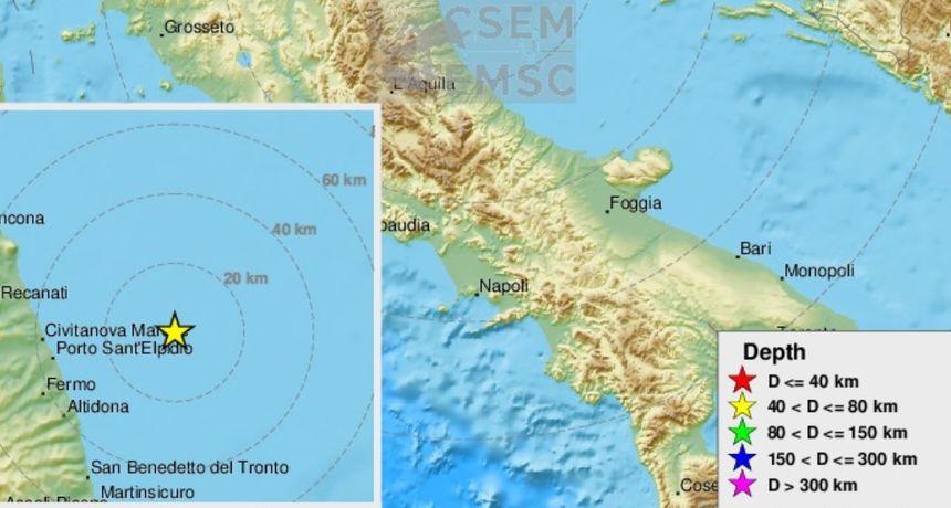 Potres 4,2 u Jadranskom moru na dubini od 60 kilometara, osjetio se u Dalmaciji