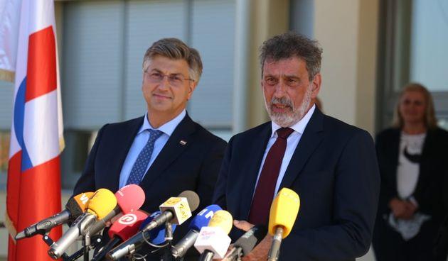 Premijer Plenković ministar Fuchs