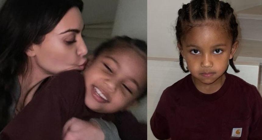 Iako svi pišu da su im djeca ista Kim, izgleda da će stariji sin biti kao tata: 'Ajme, ovo je mali Kanye'