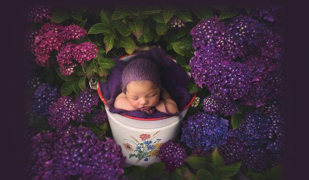 Na svojoj Facebook stranici Cleare Photography stavlja fotografije novorođenih beba