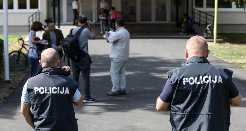 Verbalni sukob antimaskera i ravnatelja škole u Krapinskim Toplicama, policija prijavila roditelje