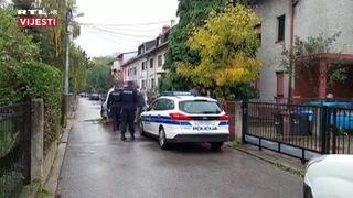 Policija ispred kuće vlasnika čiji su psi izgrizli ženu u zagrebačkoj Dubravi (thumbnail)