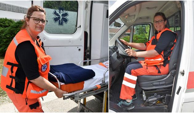 PETRA EREIZ 42-godišnja Čakovčanka jedina je vozačica saniteta u Međimurju!