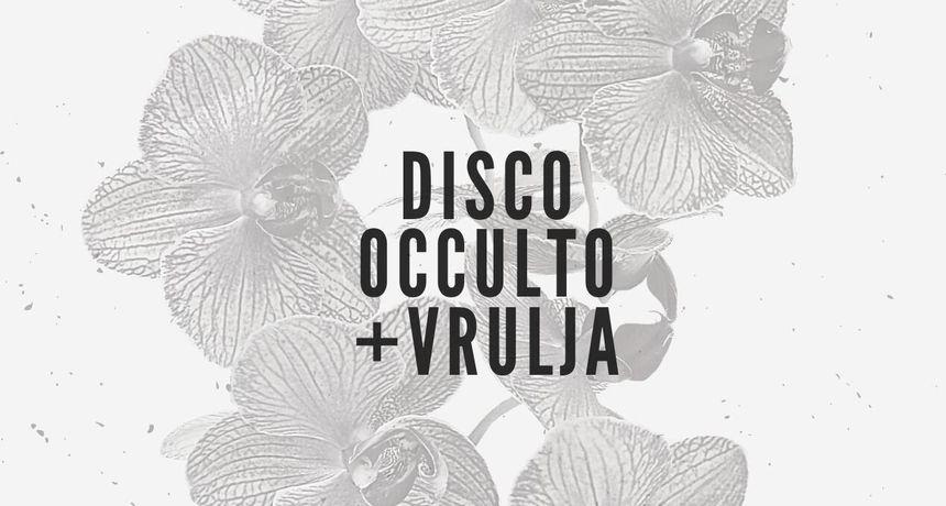 U subotu 9. listopada u Urbanom parku Hrvatskog doma rock koncert zagrebačkih Disco Occult i varaždinske Vrulje
