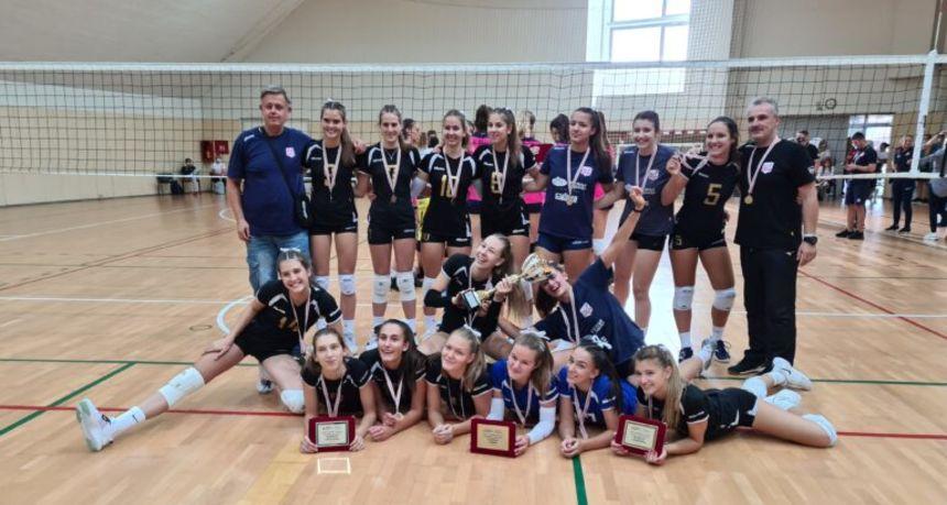 Osječanke dominirale na odbojkaškom prvenstvu Hrvatske i osvojile zlato