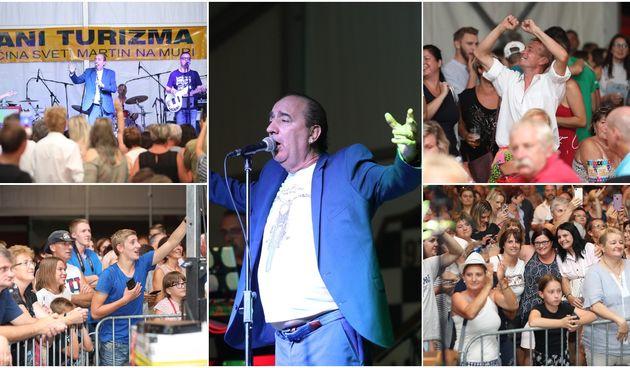 Mladen Grdović ispunio šator u Sv. Martinu na Muri, pjevalo se i plesalo uz njegove hitove