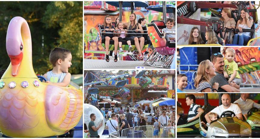 FOTO Lunapark u Čakovcu i ove je godine atrakcija za najmlađe, ali i nešto starije