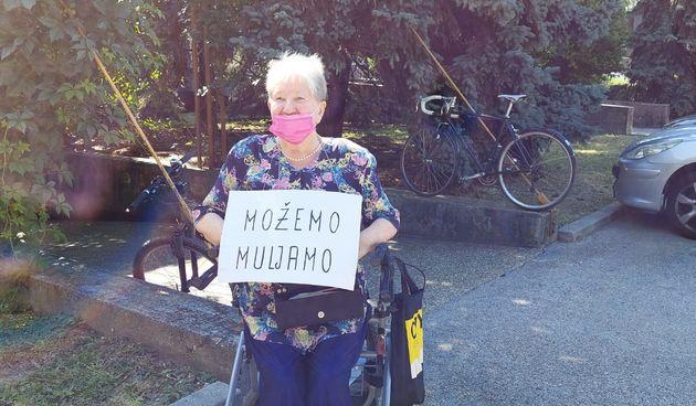Višnja Škreblin 20 godina prosvjeduje protiv svih - nema prosvjeda kojeg je propustila, sad i protiv Možemo
