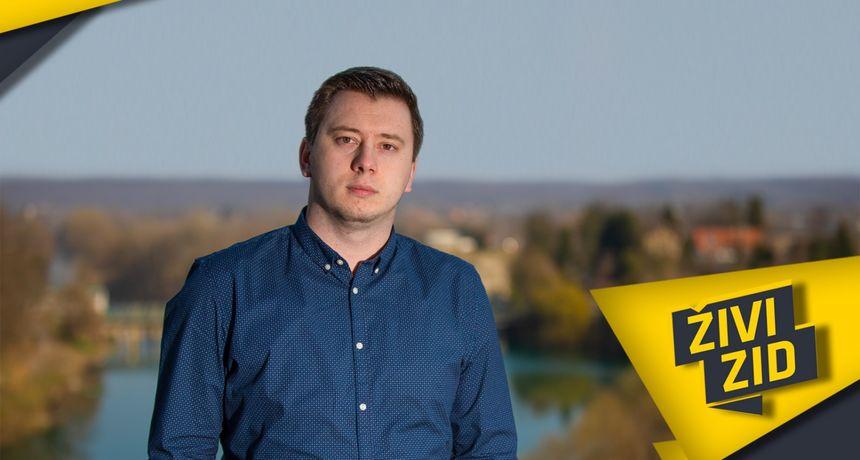 Kampanja se zahuktava, mladi kandidat Živog zida za župana oštro po HDZ-u: Možda sam mlad, ali moja želja za promjenama je neizmjerna