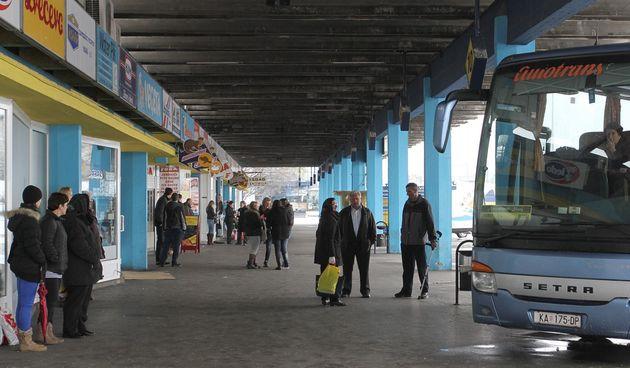 Karlovac, autobusni kolodvor