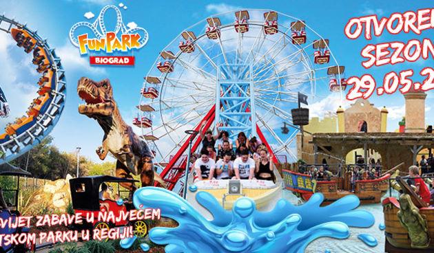 Fun Park Biograd otvara sezonu 29. i 30.5 2021. sa brojnim iznenađenjima i nagradama