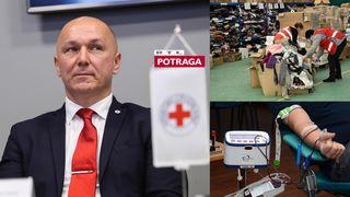 Crveni križ, Potraga