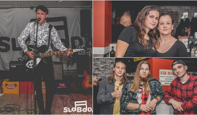 Freedom stage Caffe bar Sloboda
