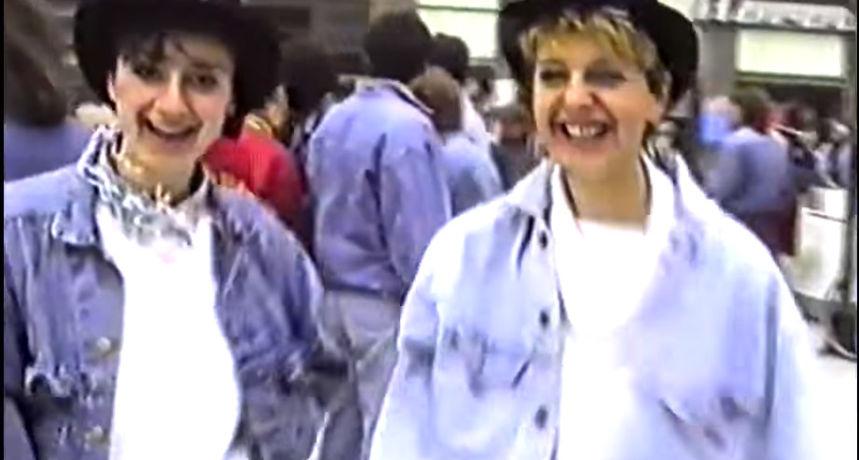 Osječki Vremeplov: Maturanti na središnjem trgu 90-ih