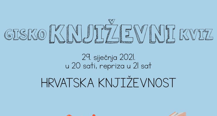 GISKO: Književni kvizovi - Hrvatska književnost