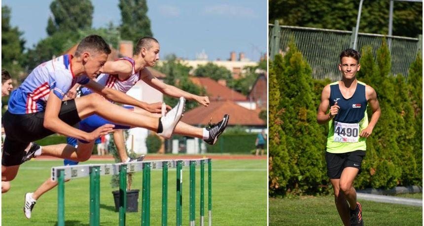 Pet atletičara iz varaždinskih klubova putuje s reprezentacijom Hrvatske na natjecanje u Češku