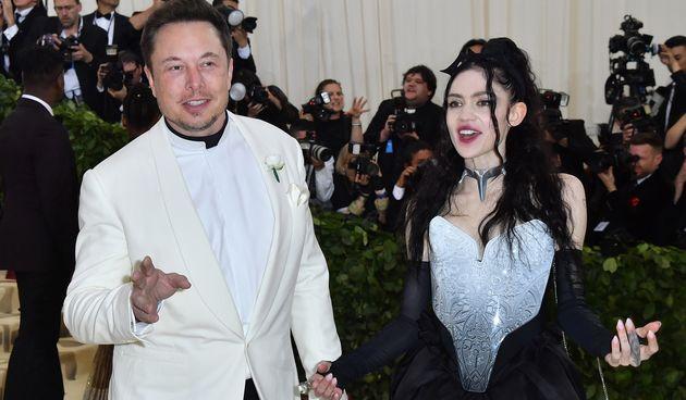 Elon Musk i Grimes